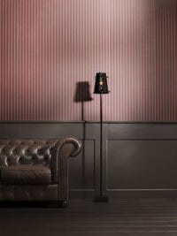 Elegant Allure Red Striped Wallpaper SR1788