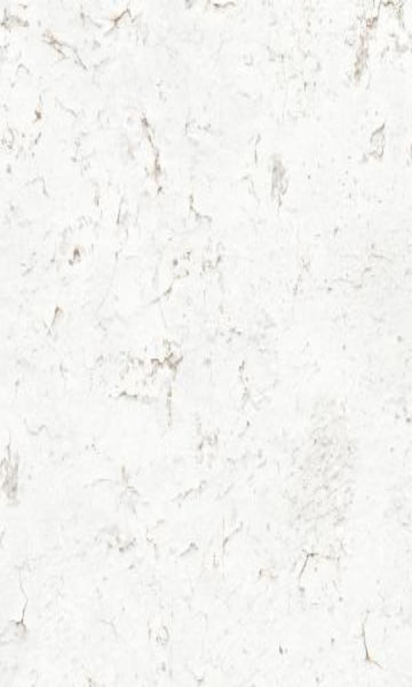 Contemporary Rustic Weathered Faux Plaster White Cracked Wallpaper R3702