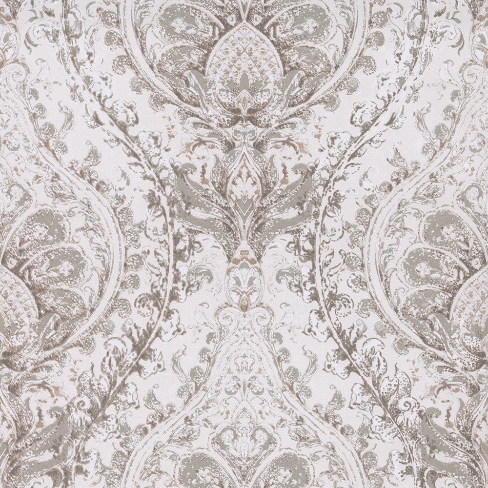 Tan Painted Damask R2687