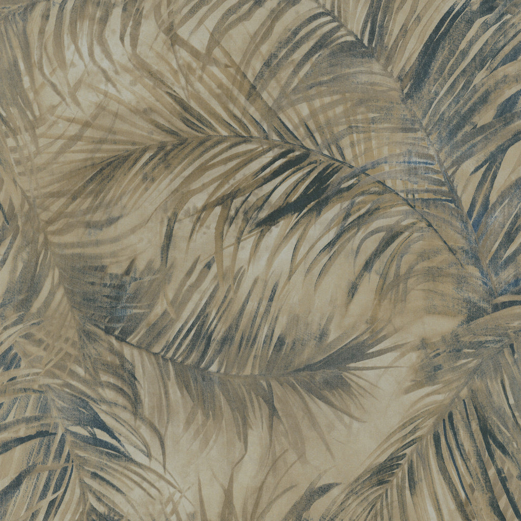 Light Gold & Blue Fan Palm R2692