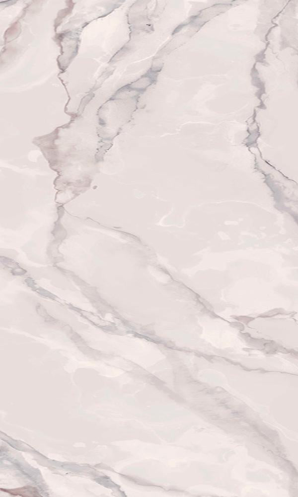 Classic Faux Marble Wallpaper Mural Pastel Pink M9300