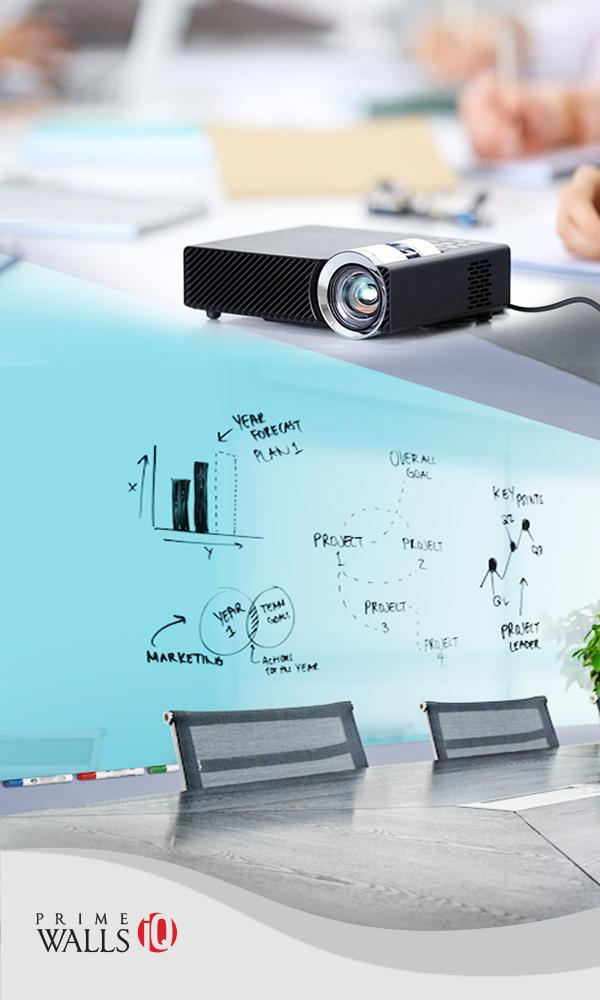 WALLS IQ Dry Erase Projection Wallcovering