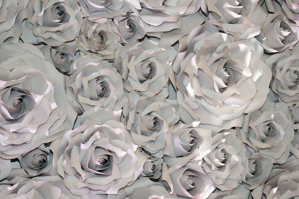 3D Sculpted Roses