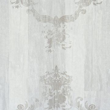 faux wood wallpaper, Faux Wood Cool Grey Damask Wallpaper R1372 | Vintage Home Interior