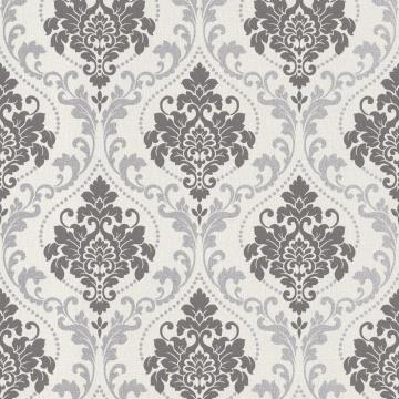 Silver Royal Damask R2967