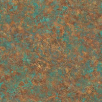 Blue & Orange Painted Textured Wallpaper R4780