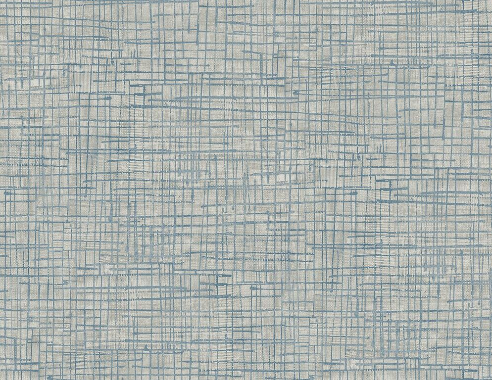 Blue Textured Freehand Matrix Wallpaper R5119. Blue wallpaper. Geometric wallpaper. Home wallpaper. Modern wallpaper.
