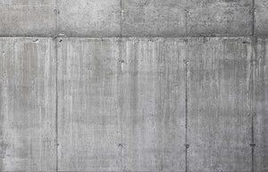 Silver Simple Concrete Mural Wallpaper M9334.Digital wallcovering