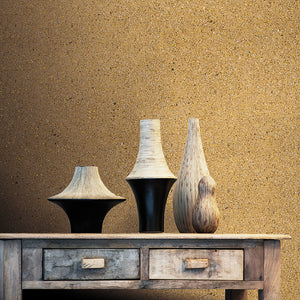 Gold Mica Metallic Wallpaper R2201 | Elegant Powder Room Wall Decor