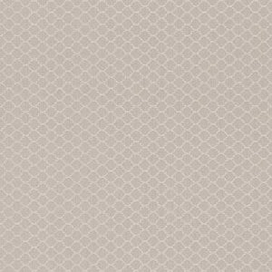 Threaded Honeycomb Geometric Linen Wallpaper Beige and White R4720
