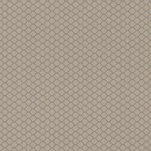 Threaded Honeycomb Geometric Linen Wallpaper Brown and Taupe R4721