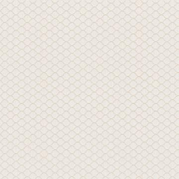 Threaded Honeycomb Geometric Linen Wallpaper White and Beige R4717