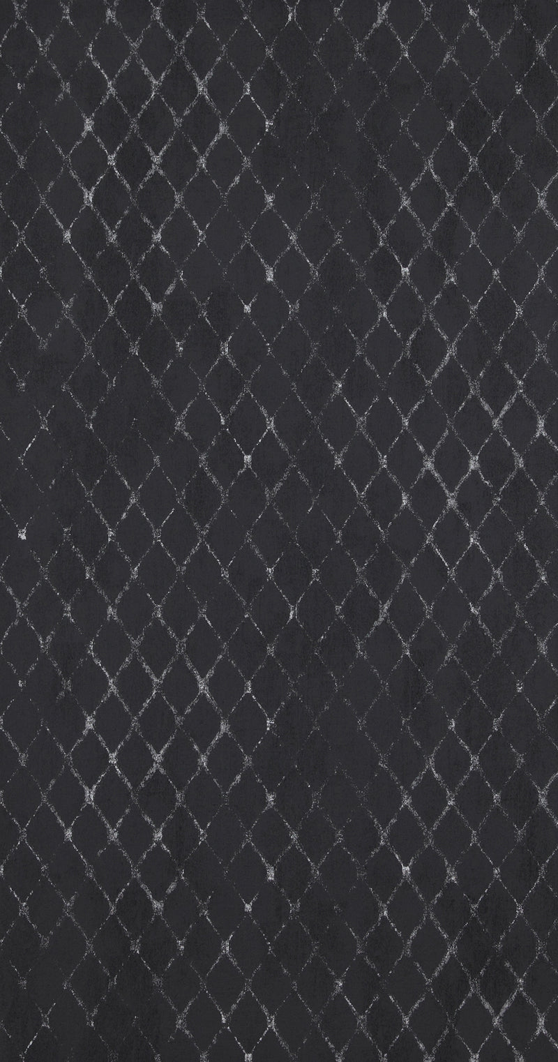 Black Subtle Diamond Commercial Wallpaper C7319 | Office & Hospitality
