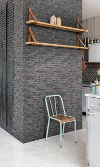 realistic faux brick wallpaper