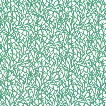 Increase Blue-Green Abstract Coral Wallpaper SR1645