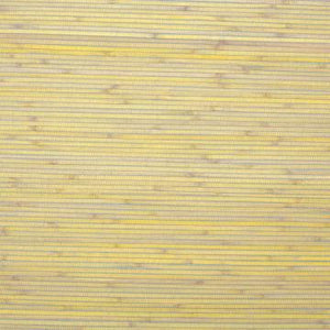 Pina Yellow & Gray Stripe Grass-cloth Woven Wallpaper  R1990