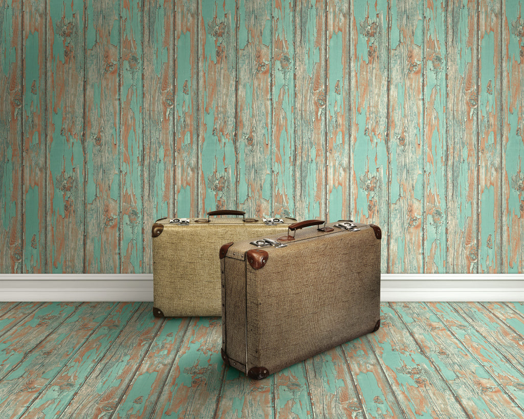 faux wood wallpaper,Faux Wood Wallpaper R4785 | Vintage Home Wall Covering