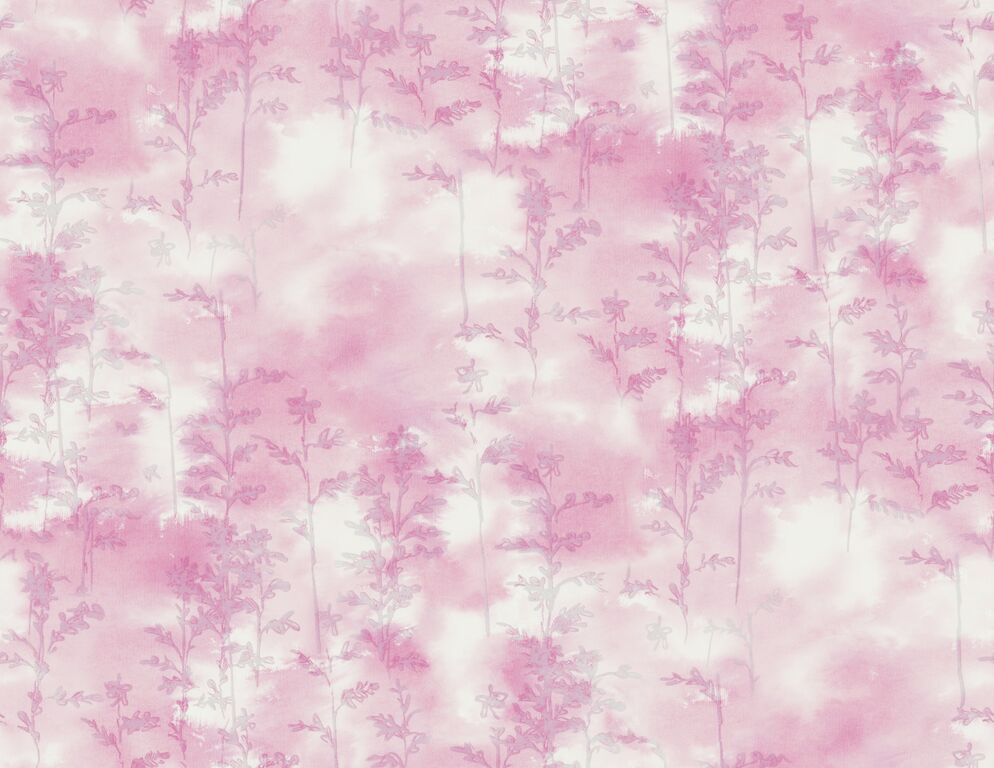 Pink Silkscreen Abstract Wallpaper R5053 | Vintage Home Interior