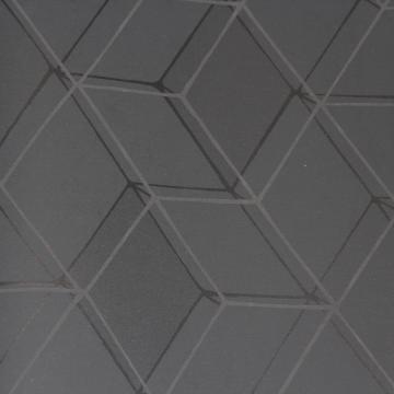 Geometric Black Diamond Illusion Wallpaper R3633