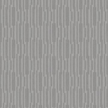 Silver Geometric Striped Wallpaper R3785 | Luxury Living Room Design