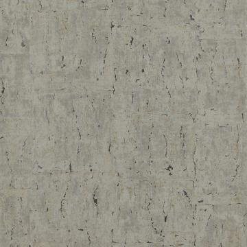 Marbled Metallic Golden Grey Natus Wallpaper C7163