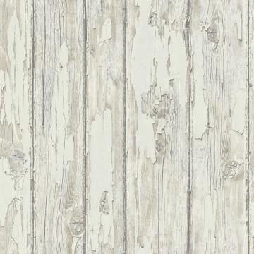 faux wood wallpaper, Light Grey Faux Wood Wallpaper R4786 | Vintage Home Interior