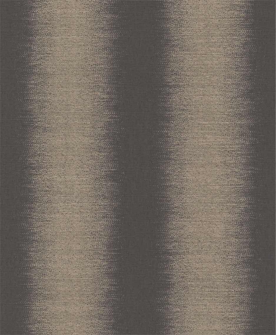 Charcoal & Gold Lavish Silk Wallpaper R5531