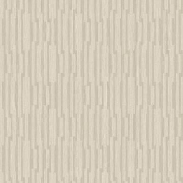 Modern Striped Geometric Luxury Beige Shift Wallpaper R3781