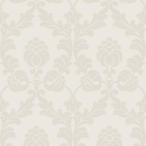 Pearl Genteel Damask Wallpaper R2964