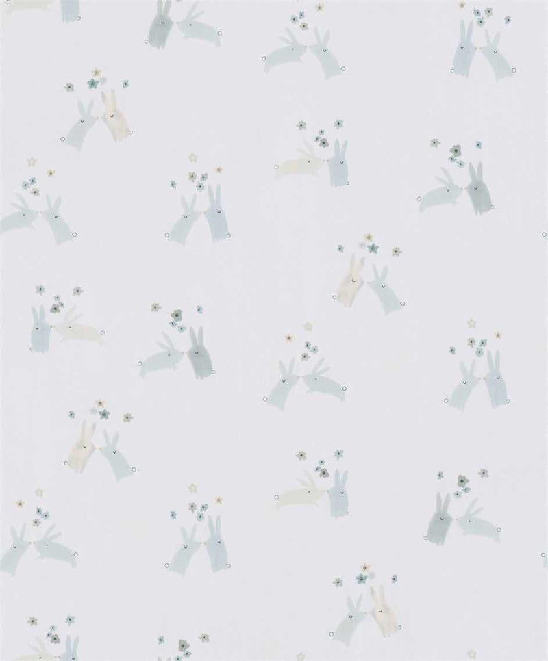 Light Beige Floral Kids Wallpaper R5447