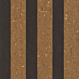 Lavish Textured Black and Gold Speckle Stripe Wallpaper R4050