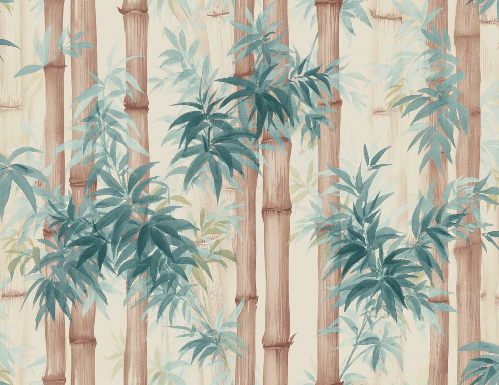 Painted Tranquil Bamboo Forest  R5094