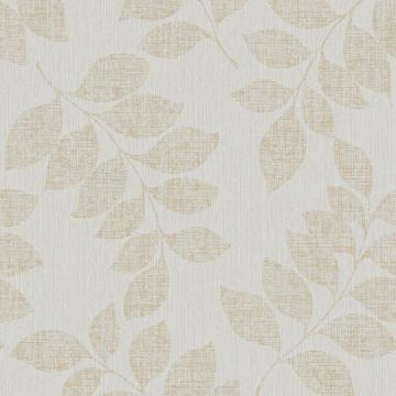 Silver Leaf Branches Wallpaper R3772 | Luxury Bed Room Interior
