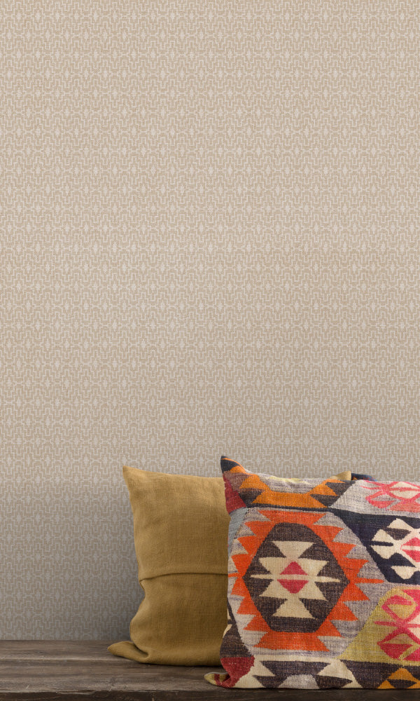 aztek geometric wallpaper ideas
