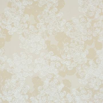 Beige Abstract Floral Wallpaper SR1655 | Vintage Home Interior
