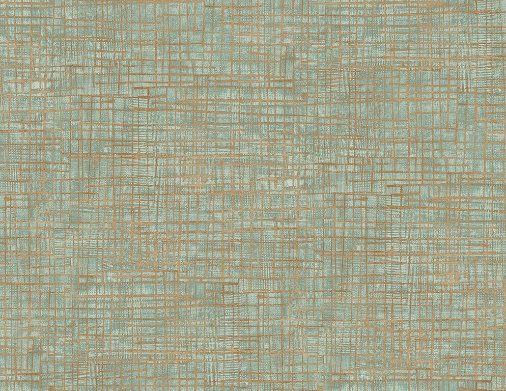 Blue Orange Textured Freehand Matrix Wallpaper R5116. Blue wallpaper. Orange wallpaper. Abstract wallpaper. Geometric wallpaper. Modern wallpaper.