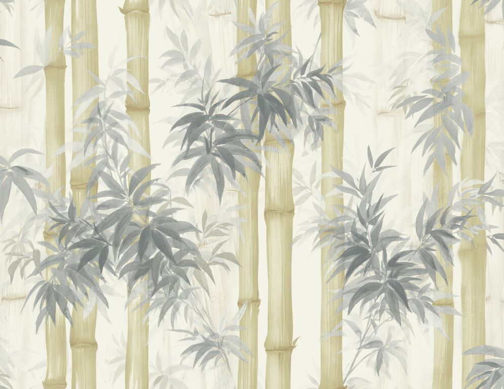 Painted Tranquil Bamboo Forest  R5096