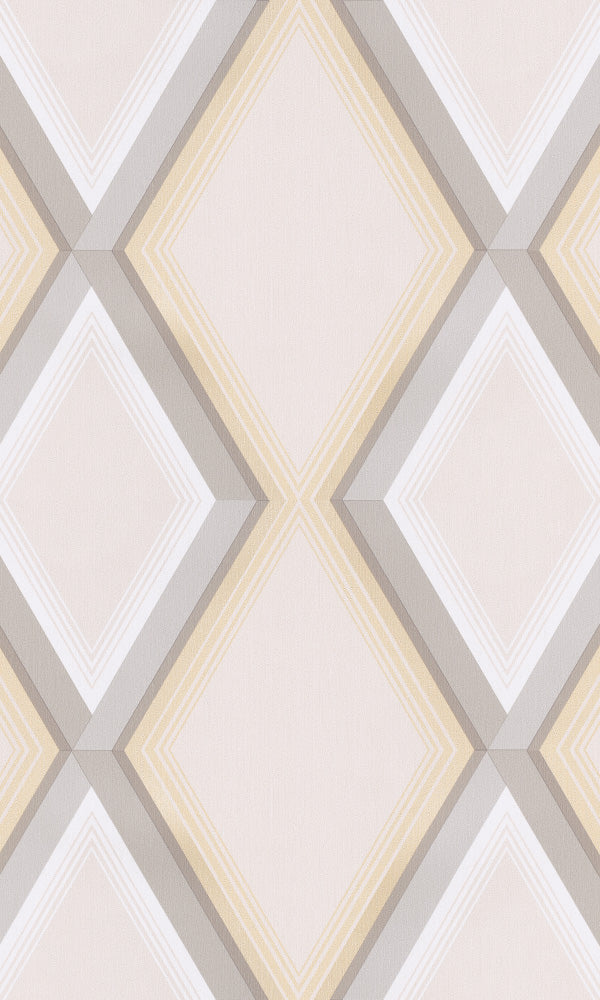 geometric striped wallpaper