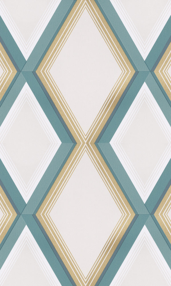 diamond stripe geometric wallpaper