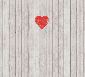 Wooden Love Mural Wallpaper M9229