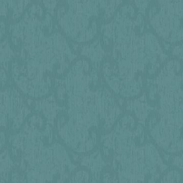 Turquoise Organ Damask Wallpaper R3501. Classic wallpaper. Damask wallpaper. Traditional wallpaper.