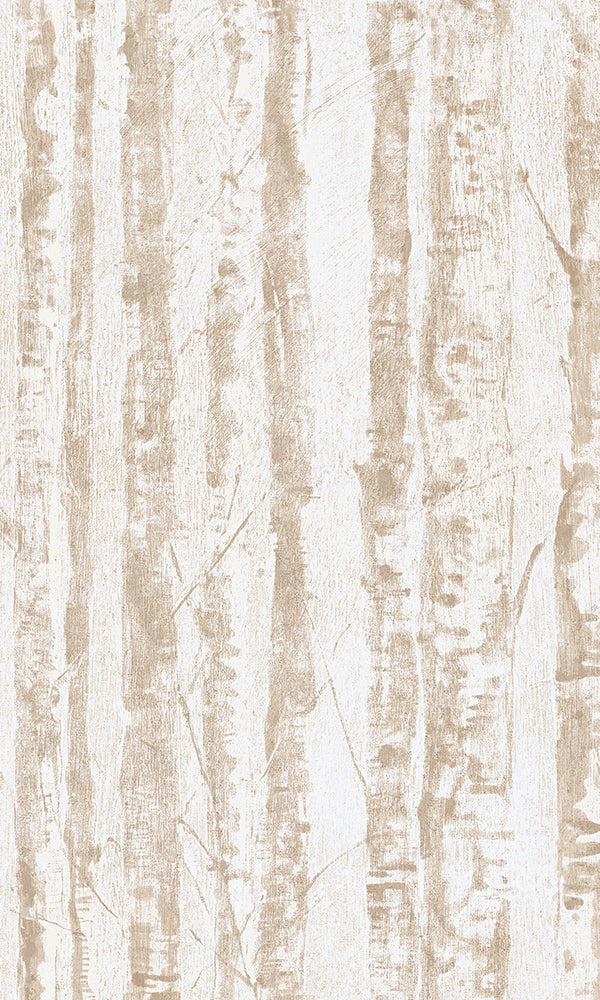 Beige Dainty Birch Forest R5883