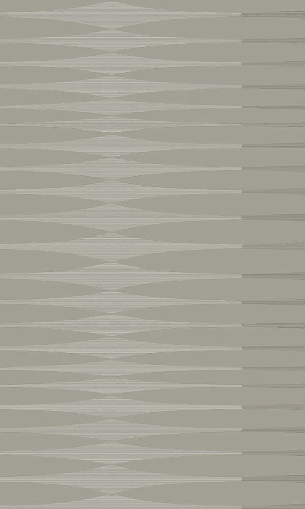 Dark Grey & Silver Inflated Stripes R5864