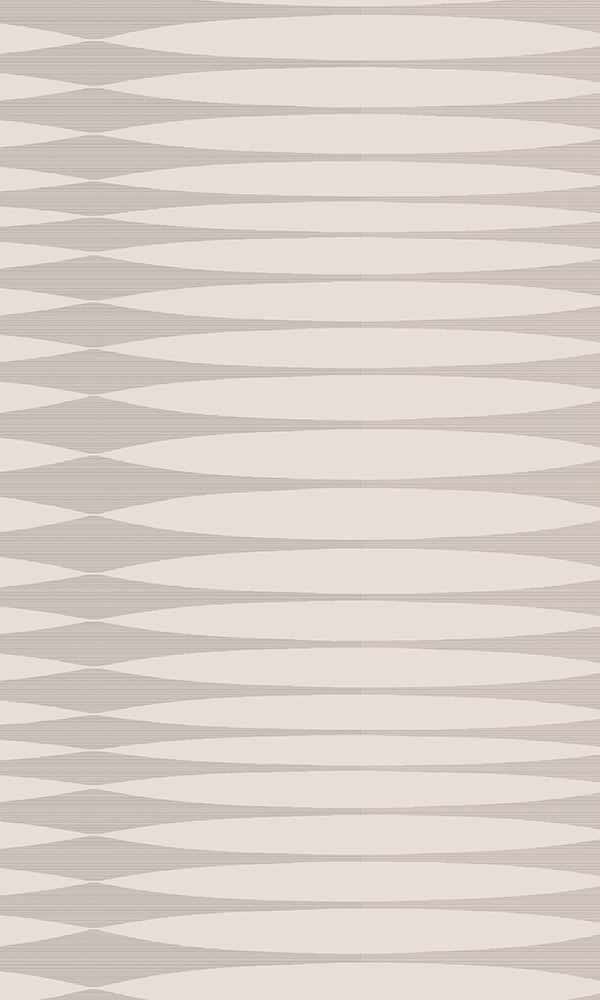 Light Grey & Silver Inflated Stripes R5868