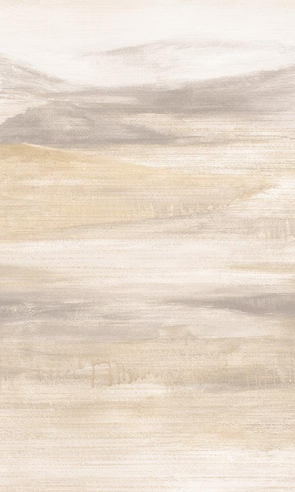 Abstract Painted Mountain Wallpaper R5898 | Luxury Home Interior