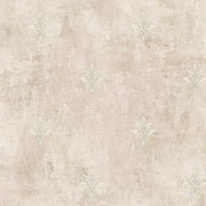 Beige Floral Wallpaper R4849 | Contemporary Home Wall Covering