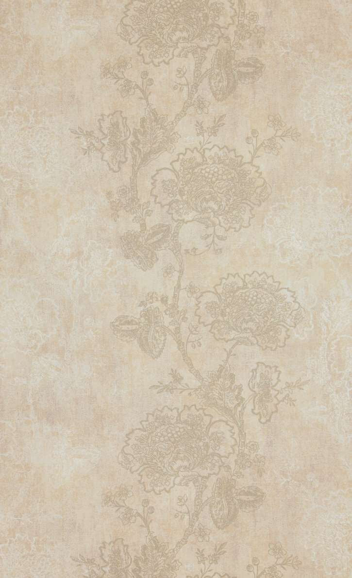 Peach & Silver Blossom Wallpaper R5251 | Floral Home Interior