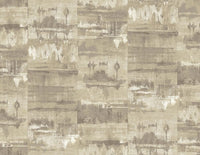 Light Brown Concrete Wallpaper R5112 | Traditional Home Interior
