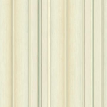 Minimalist Wainscot Wallpaper Beige and Green R4846