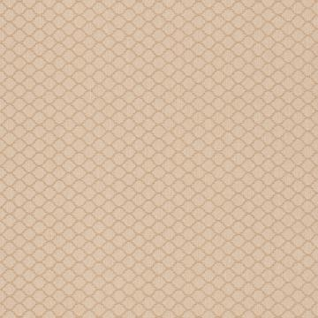 Threaded Honeycomb Geometric Linen Wallpaper Gold and Cream R4719